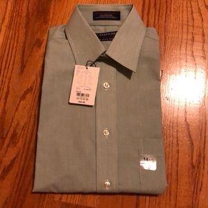 Stafford Classic Fit Long Sleeves Dress Shirt